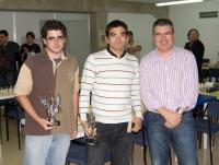 Ander Marchena, David Astasio y Carlos Pastor