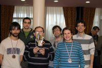 Equipo de San Viator: tercer clasificado del torneo