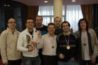Equipo de C. A. Eguidazu: campeón del torneo