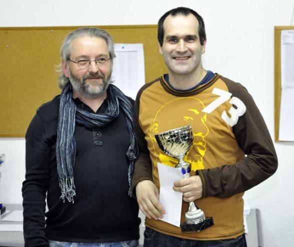 José Antonio Landa Campeón del Torneo de Reyes