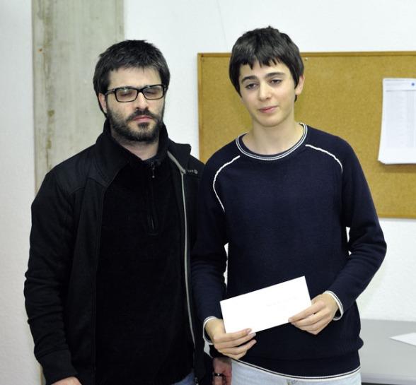 Javier Marchena, 1º menor de 16 años