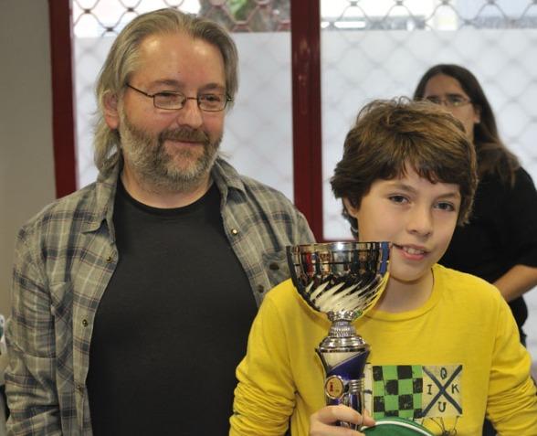 Marco Ezquerra, Campeón de Alava Alevín