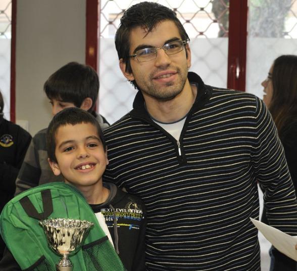 Aritz Morante, Subcampeón de Alava Infantil