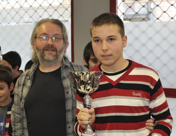 Daniel Vara del Bosque, Campeón de Alava Infantil