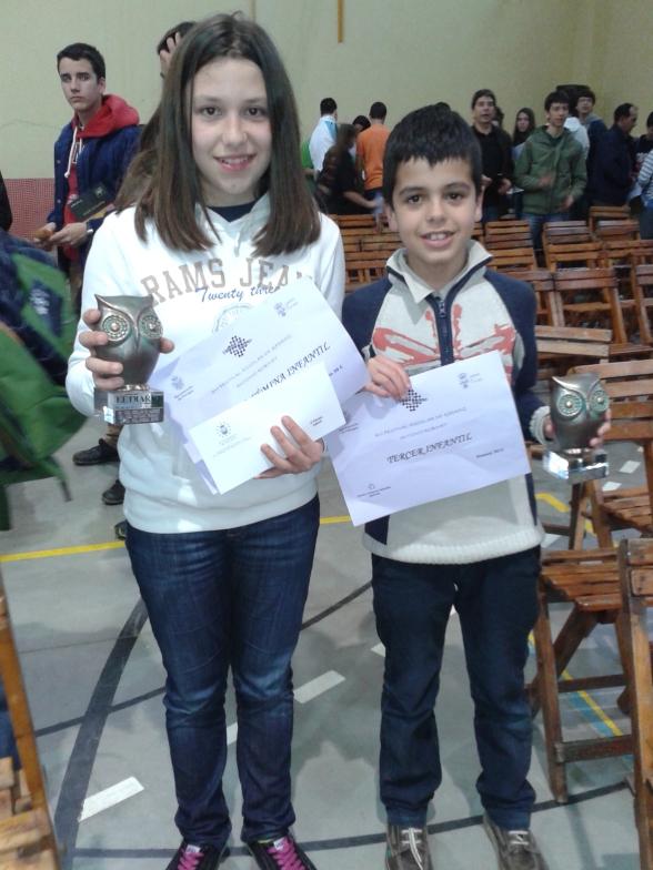 Alicia Cuber y Aritz Morante. Enhorabuena!!!