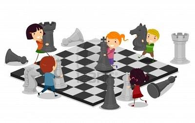 11197723-ilustracion-de-ninos-a-jugar-ajedrez