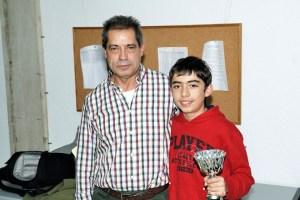 Rodrigo de las Heras, tercer clasificado