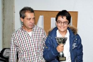 Diego Sanz, subcampeón de Alava